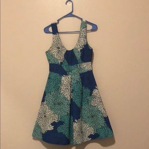 A Line Flora Cocktail Dress